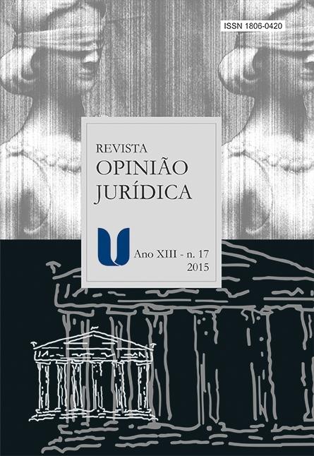 Capa revista Opiniao Jurídica